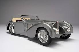 As type 57 s and later as type 57 sc it received a modified chassis and improved engines with more power. Bugatti Type 57sc Gangloff Cabriolet Amalgam Collection