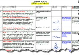 Ms Word Lesson Plans Send You A Yoga Lesson Plan Template In Microsoft Word By Gwatts