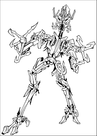 Print Download Inviting Kids To Do The Transformers Coloring Pages