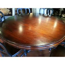 French Country 60 Distressed Round Dining Table Furniture On Main