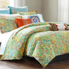 beacon s paisley twin xl cotton comforter set duvet style photo
