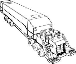Small Picture Awesome Picture of Semi Truck Coloring Page Download Print