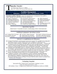 Facilities Coordinator Resume Resume For Study