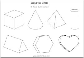 Kindergarten Worksheet. 3 Dimensional Shapes Worksheets. Mytourvn ...