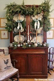 ideas china hutch decor pinterest: the everyday home  christmas home tour