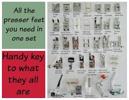More Presser Feet Than You Will Ever Need So Sew Easy