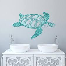 <b>Turtle Wall Decal Tortoise</b> Vinyl Sticker Decals Tortoiseshell Turtle ...