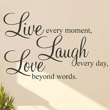 Live Laugh Love Quotes Best Live Laugh Love' Wall Stickers Quotes Inspirational Zen Quotes