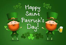 Happy st patricks day letras con leprechauns | Vector Gratis
