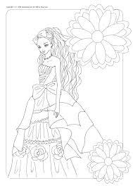 お姫様の塗り絵大人の塗り絵ドレス 育児も遊びも仕事も頑張る女の