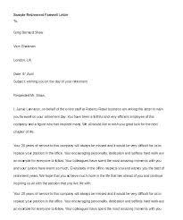 Sample Retirement Announcement Letter Sample Retirement