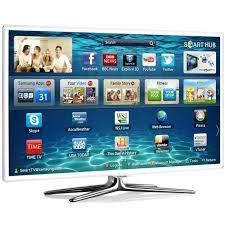 Enlarge Image Samsung UE55F6510 (UE55F6510SBXXU) White 55 Inch Smart 3D LED TV