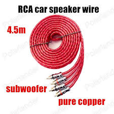 the 25 best best car audio speakers trending ideas 1 pc car audio stereo cable wire line for car amplifier speaker subwoofer the best price