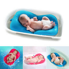 high quality anti skid baby bathing mat baby bathtub shower bed non slip security baby bath pad newborn seat soft cushion non slip bath mats with