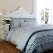 Pale Blue Bedroom Pale Blue Bedding Pale Blue And Cream Stripe Curtain Panel
