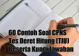 Untuk mempermudah anda dalam menghadapi tes cpns, ada baiknya anda mengikuti pelatihan tpa cpns. 60 Contoh Soal Cpns 2021 Tes Deret Hitung Tiu Beserta Kunci Jawaban Ilmu Beton
