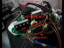 fooling lcd projector hack install any lightbulb diy fooling lcd projector hack install any lightbulb diy