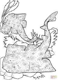 Small Picture Angel Sharks coloring page Free Printable Coloring Pages