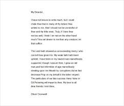 Oliver Cromwell to Elizabeth Cromwell