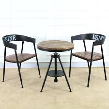 coffee table chairs creative hair retro wood coffee table tea table iron bar tea whole