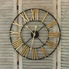 office large size floor clocks wayfair. Angecourt Oversized Skeleton 60cm Wall Clock Office Large Size Floor Clocks Wayfair
