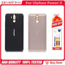 Mới Ban Đầu Ulefone Power3 Pin Ốp Lưng Bảo Vệ Pin Ốp Lưng Trong Cho 6.0  Inch Ulefone Power 3 Điện Thoại + 3 keo 3M|Phone Case & Covers