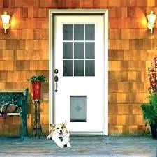 door with dog door built in exterior doors with dog door built in exterior door door