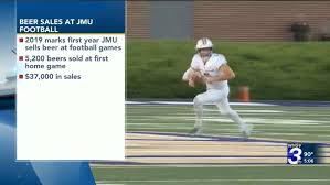 Jmu Releases Sales Numbers For 1st Game Of Selling Beer At