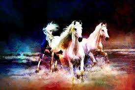 horse painting horse paintings 002 by catf