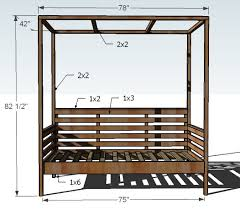 amazing diy outdoor daybed with ana white outdoor daybed with canopy diy projects