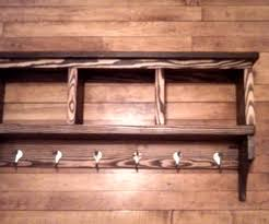 Coat Rack Shelf Plans Rack With Shelf 59