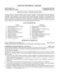 General Counsel Resume General Counsel Resume Example General