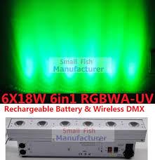 cheap lighting effects. 2017 hot led wash light 6x18w rgbwauv wireless dmx u0026 battery wall washer bar line uplighting dj disco dmx stage effects cheap lighting f