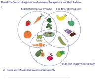 How To Read A Venn Diagram With 3 Circles Venn Diagram Word Problems Worksheets Three Sets