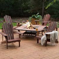 fire pit and chairs. Plain Pit Product Image Belham Living Richmond Deluxe 5 Piece Adirondack Chair Fire  Pit Chat Set In And Chairs N
