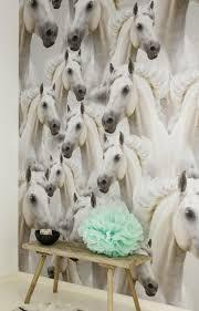 Oz 3121 Wwwbiggelaarverfenwandnl Behang Meisjes Paarden
