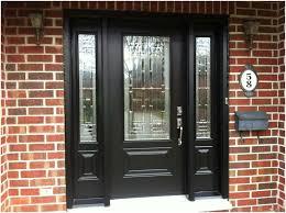 image of modern fiberglass exterior doors