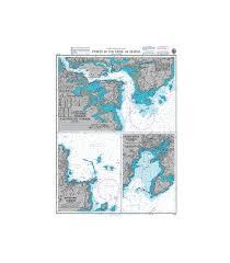 Gulf Of Maine Chart British Admiralty Nautical Chart 2487 Ports In The Gulf Of Maine