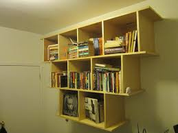 Wall Mount Bookcase Bookcase Shelf Supports With Awesome Unique Rustic Wallmount