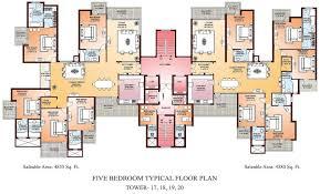 amazing luxury 4 bedroom apartment floor plans pictures exterior