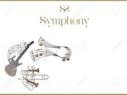 Music Instruments Note Card