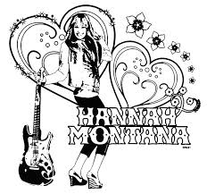 Small Picture Hannah Montana Coloring Pages inside Hannah Montana Coloring Pages