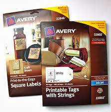 Avery Gift Tags Tutorial How To Make Holiday Gift Tags With Avery Labels