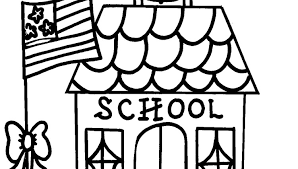 Small Picture New School House Coloring Page 38 For Your Coloring Site with