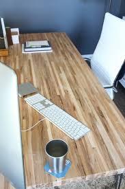 DIY Butcher Block Desk | Modish and Main
