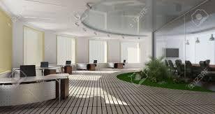 modern interior office stock. Modern Interior Of Office Stock Photo - 7756829 O