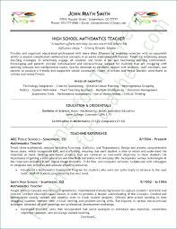 Resume Examples For Teachers Resume Layout Com