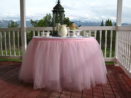 trendy diy tulle table skirt at il fullxfull px