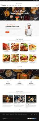 Restaurant Website Templates New 48 Best Web Template Images On Pinterest Food Website Web