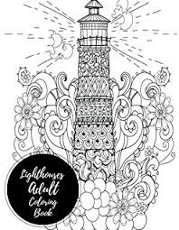 Small Picture Lighthouse Coloring Book 20 Lighthouse Designs in a Variety of